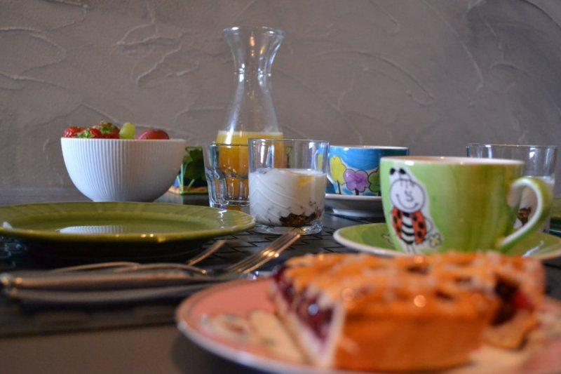 een goed begin van de dag met een heerlijk ontbijt