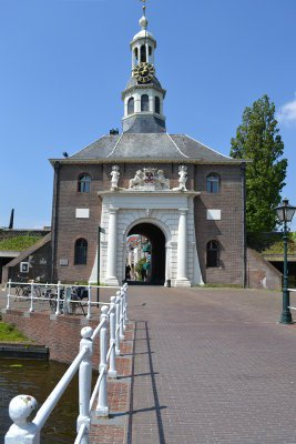 de Zijlpoort in volle glorie